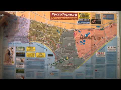Карта Паттайя