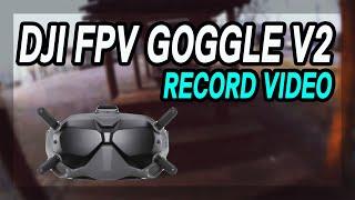 DJI FPV Goggle v2 고글 녹화영상 /FPV프리스타일 /Juicy Juicy Style Practice
