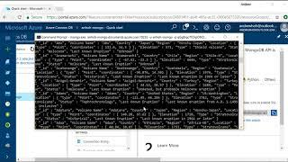 Querying Azure Cosmos DB's MongoDB API