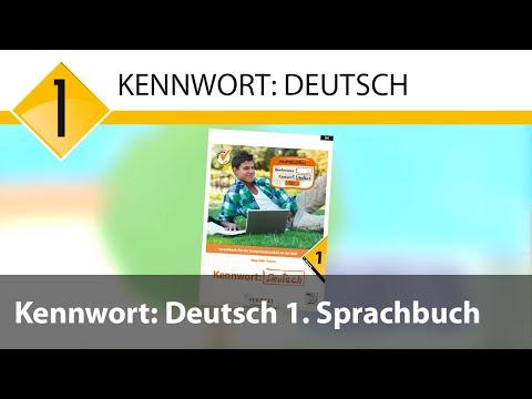 Kennwort: Deutsch 1. Sprachbuch mit MP3-CD-Deutsch
