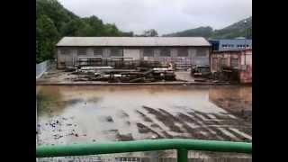 preview picture of video 'povodne 2013 Benešov nad Ploučnicí'