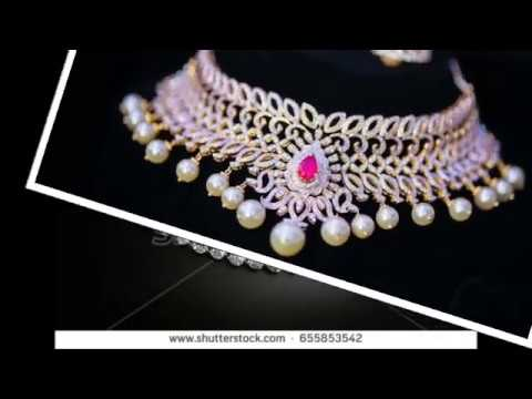 Latest diamond necklace collections| Diamond necklace