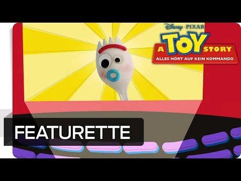 A TOY STORY: ALLES HÖRT AUF KEIN KOMMANDO – Featurette: Göffel Entstehung | Disney•Pixar HD