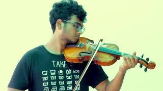 pavizha mazha | athiran | violin cover | praveen achar