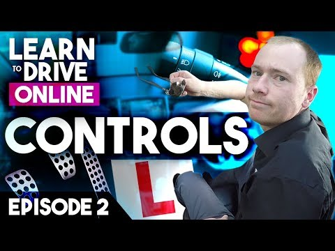 Online Driving Lesson for Beginners - Controls, Pedals & Zones of Vision