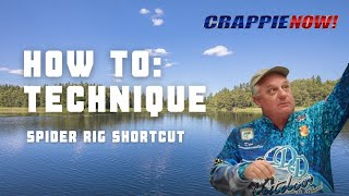 Crappie NOW How To - Spider Rig Short Cut