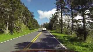 Beautiful Drive To Top Of Mount Mitchell - From Blue Ridge Parkway