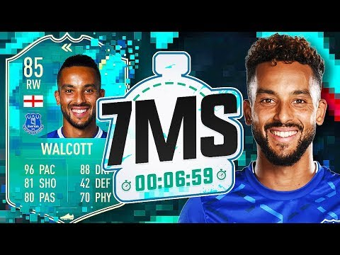 INSANE FLASHBACK THEO WALCOTT!! 7 MINUTE SQUAD BUILDER - FIFA 20 ULTIMATE TEAM