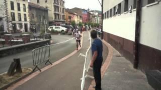 preview picture of video 'Ehun Miliak lasterketa Zumarraga Urretxutik. 2012 uztailak 13'