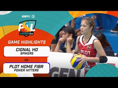 [Sport5]  Highlights: Cignal HD vs. PLDT Home Fibr | PSL Invitational Conference 2019