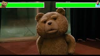 Ted vs John with healthbars