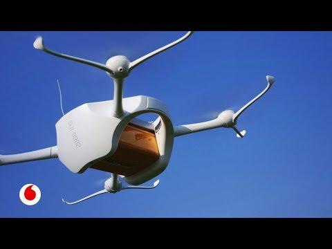 Llegar con drones donde resulta complicado hacerlo por otros caminos