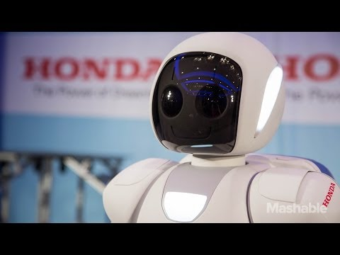 Newest Honda ASIMO Robot Moves Like A Human