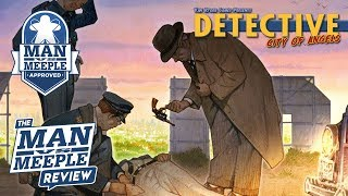 Detective: City of Angels Review by Man Vs Meeple (Van Ryder Games)