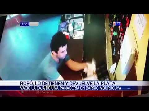 Asaltó una panadería, lo detuvieron y devolvió lo robado