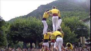 preview picture of video 'Festa Major 2014 - Ribes de Freser - Castellers de Solsona - 15.8.2014 - Per METEORIBES'