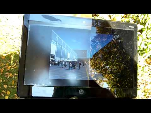 Dipos Antireflektive Display Folien Test