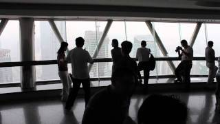preview picture of video 'Oriental Pearl Tower, Shanghai, China. Travels with my wife'