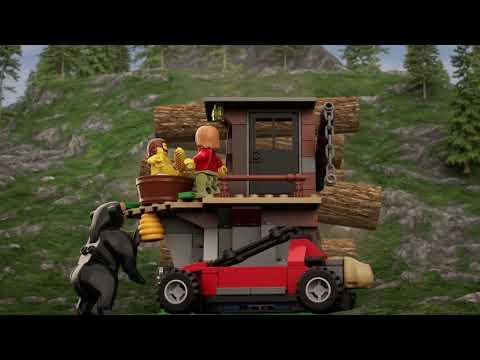 Vidéo LEGO City 60173 : L'arrestation dans la montagne