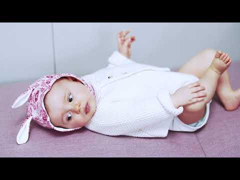 Neuf : Ensemble robe et culotte PETIT BATEAU 1 mois blanc fleurs bébé fille