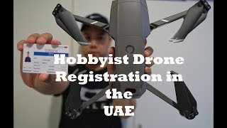 How to register a Drone in the UAE || For a Hobbyist Permit
