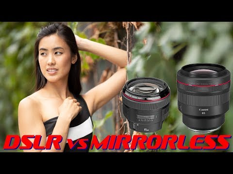 Canon RF 85mm f1.2L vs EF 85mm f1.2 II