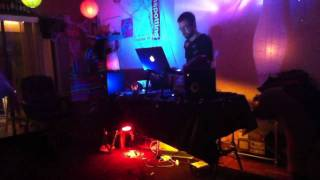 Halloween Party W/ Music Controlled Lights