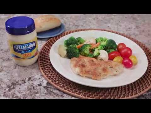 Parmesan Crusted Chicken Recipe | Hellmann's®