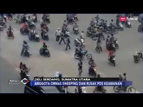 Anggota Ormas di Medan Tewas Dianiaya, Massa Rusak Kantor Pos Satpam di Medan - iNews Malam 04/02