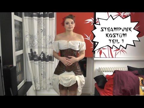 Steampunk Kostüm Teil 1! Die Bluse - Nerdy Workshop - NinNin
