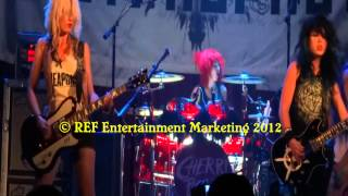 CHERRI BOMB does SHAKE THE GROUND House of Blues Anaheim Copyright REF Entertainment Marketing 2012