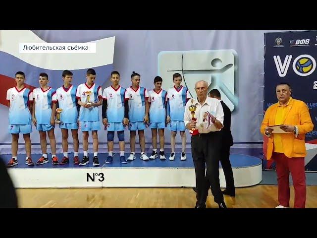 Ангарские волейболисты завоевали бронзу