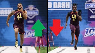 NFL Prospects Stock Up & Stock Down Following Combine