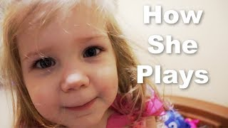 How Does Our Autistic 2 Year Old Play?