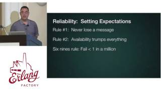 Erlang Factory SF 2016 - Jamshid Mahdavi - An Erlang based Philosophy for Service Reliability 1