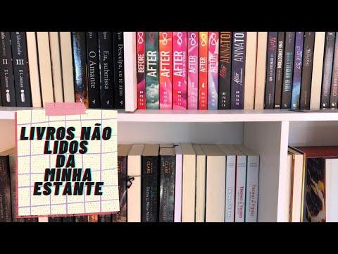 Livros não lidos da minha estante| Lendo com Bia