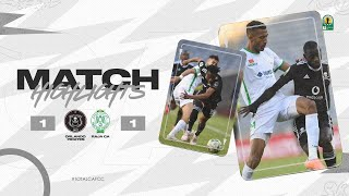 CAF CC | Quart de finale Aller : Orlando Pirates 1 – 1 Raja CA