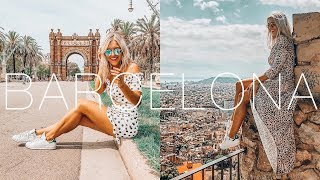 BARCELONA TRAVEL VLOG & GUIDE 2018 - COME TO BARCELONA!