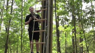 preview picture of video 'Safety First at Go Ape in Williamsburg'