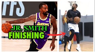 Lakers Jr Smith NBA Workout  * CRAZY FINISHES* He is ready for his debut!