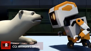 Funny CGI 3d Animated Short Film ** BEAR 'N WASTELAND ** Cute Animation Kids Cartoon by Kyongho Hong