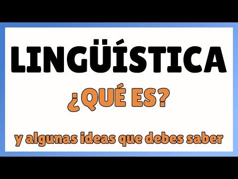 Introducción a la lingüística: qué es (y qué no es) ‹ Curso de lingüística general
