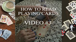 Oracles Intro Ace thru Nine - Numerology and the 4 Elements give meaning to cards.