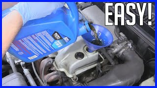 How to Change Oil and Filter Saturn S Series