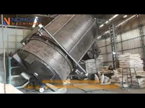Fixed Turret 4 Arm Bi Axial Rotomoulding Machine