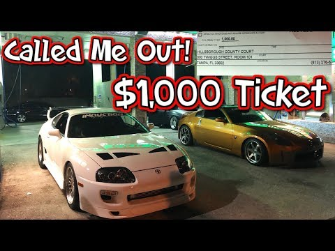 Procharged G35 Calls Out The Supra! $1,000 Ticket!!!
