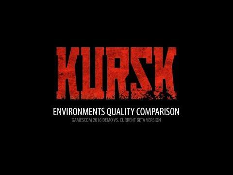 KURSK - Environments quality comparison: Gamescom 2016 demo vs. Beta Version! thumbnail