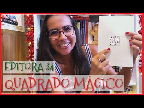A MAGIA DO NOME DA EDITORA 34 | Ana Carolina Wagner