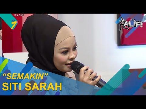 Sesi Jemming Eksklusif Siti Sarah Nyanyi Lagu Baru Semakin Dalam Its Alif Its Alif