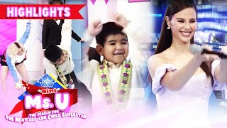 Vice Ganda challenges Yorme and Catriona Gray to dance to Sarah Geronimo's 'Tala'.  Subscribe to ABS-CBN Entertainment channel! - http://bit.ly/ABS-CBNEntertainment  Watch the full episodes of It's Showtime on TFC.TV  http://bit.ly/ItsShowtime-TFCTV and on iWant for Philippine viewers, click: http://bit.ly/ItsShowtime-iWant  Watch your favorite Kapamilya shows LIVE! Book your tickets now at http://bit.ly/KTX-ShowtimeXP  Visit our official website!  http://entertainment2.abs-cbn.com/tv/shows/tawagngtanghalan/main http://www.push.com.ph  Facebook: http://www.facebook.com/ABSCBNnetwork Twitter: https://twitter.com/ABSCBN  Instagram: http://instagram.com/abscbn  #ItsShowtime #ShowtimeMiniMsU #MiniMsU